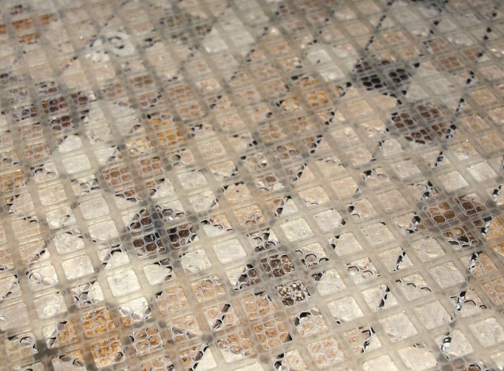 Beava Mosaic Mesh Backing Sheet X 11 Makes Mosaic Fixing
